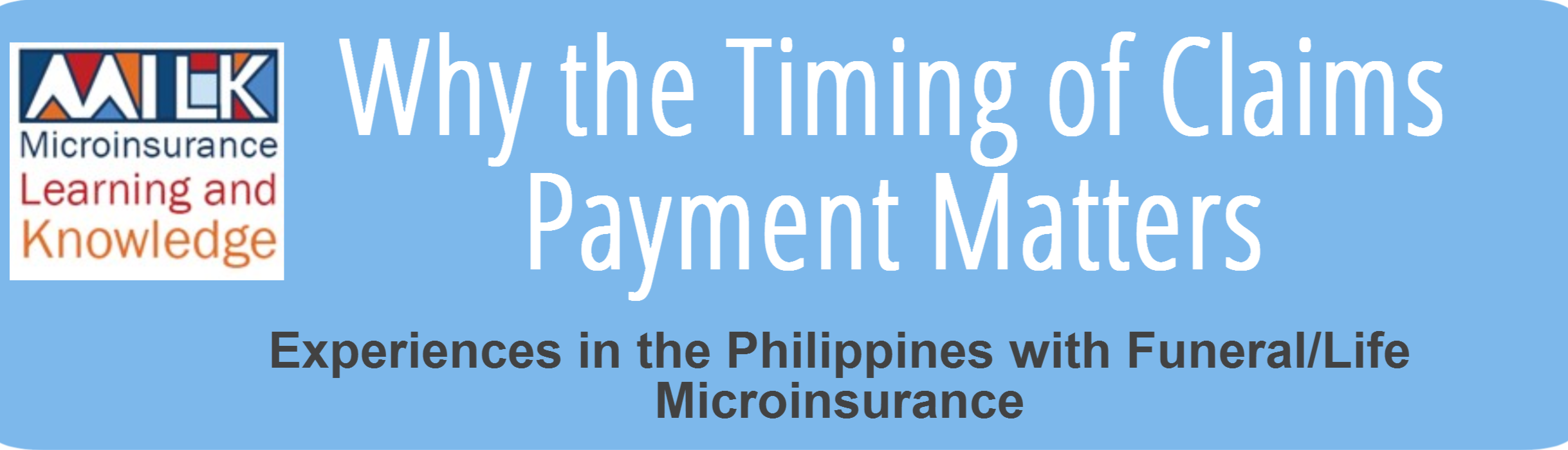 Infographic - Why timing of claims payment matters